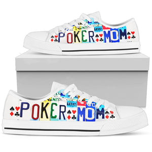 Poker Mom - Low Top - Love Family & Home