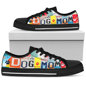 Dog Mom Low Top Shoes - Love Family & Home