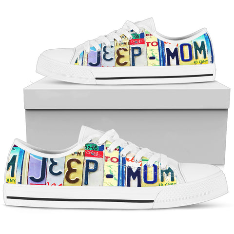 Jeep Mom Low Top - Love Family & Home