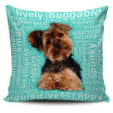 "Yorkie 18"" Pillow Cover"