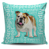 "Bulldog 18"" Pillow Cover"