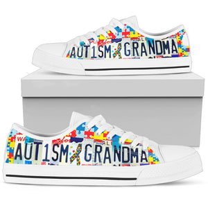 Autism grandma low top - Love Family & Home