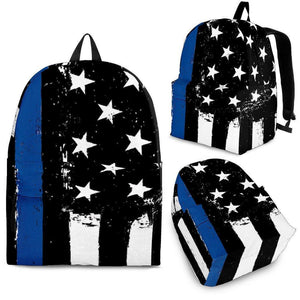 Thin Blue Line Backpack - Love Family & Home