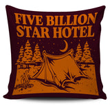 "Five Billion Star Hotel 18"" Pillow-Cover"