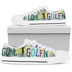 Gone Golfing Women's Low-Top Shoes - Love Family & Home