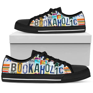 Bookaholic Low Top - Love Family & Home