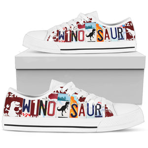Wino-saur Low Top Shoes - Love Family & Home