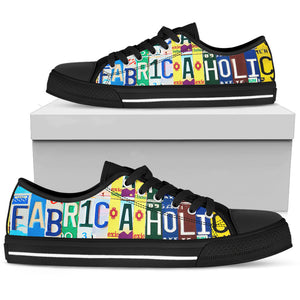 Fabricaholic Low Top - Love Family & Home