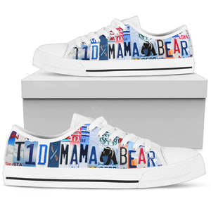 T1D Mama Bear Low Top Shoes - Love Family & Home