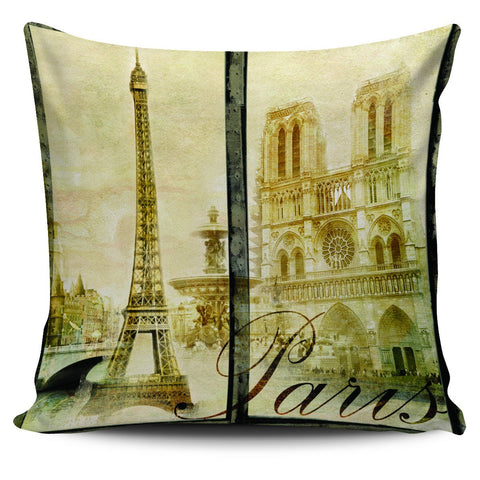 "Image of Paris France Eiffel Tower 18"" Pillow Covers - Love Family & Home"