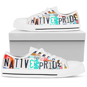 Native Pride Low Top Shoes - Love Family & Home