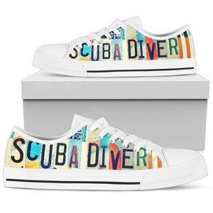 Scuba Diver Low Top - Love Family & Home