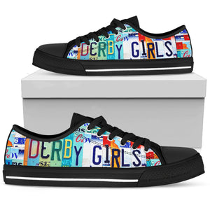 Derby Girls Low Top Shoes - Love Family & Home