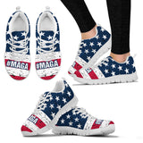 #MAGA Trump Ladies Running Shoes Make America Great Again