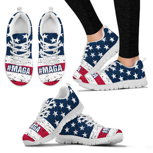 #MAGA Trump Ladies Running Shoes Make America Great Again - Love Family & Home