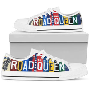 Road Queen Black Low Top Shoes - Love Family & Home
