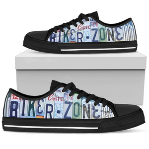 Biker Zone Low Top - Love Family & Home