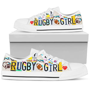 Rugby Girl Low Top - Love Family & Home