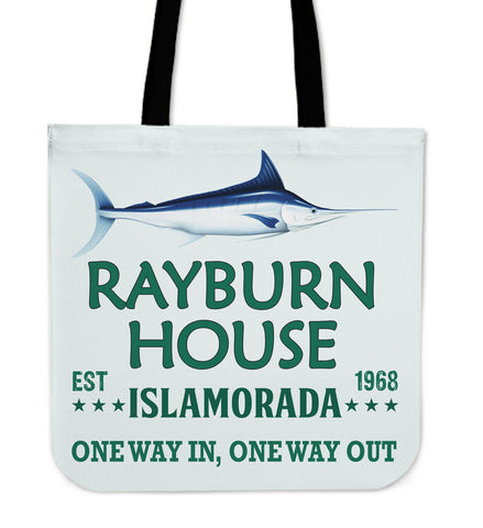 Image of Rayburn House Tote Bag - Love Family & Home