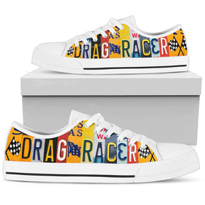 Drag racer black low top - Love Family & Home