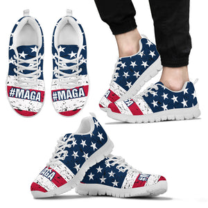 #MAGA Trump Men's Running Shoes Make America Great Again - Love Family & Home