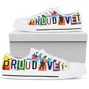 Proud Vet Low Top - Love Family & Home
