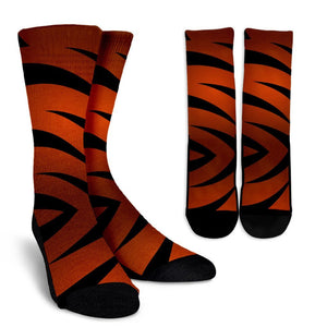 Tigers Socks Orange and Black - Love Family & Home