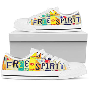 Free Spirit Low Top - Love Family & Home