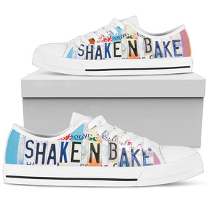 Shake n Bake Low Top Shoes - Love Family & Home