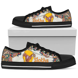 Sloth Women's Low Top Shoe - Love Family & Home