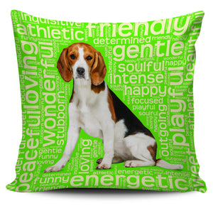 "Blue Beagle Dog 18"" Pillow Covers - Love Family & Home"