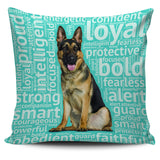 German Shepherd 18 Pillowcase