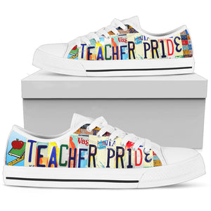 Teacher Pride Women's Low Top Shoes - Love Family & Home