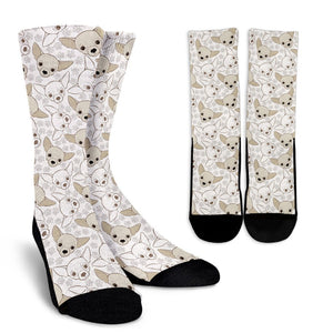Chihuahua Pattern Socks - Love Family & Home
