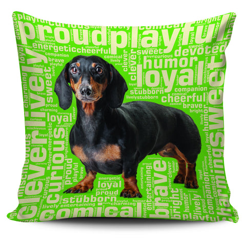 "Dachshund 18"" Pillow Covers - Love Family & Home"