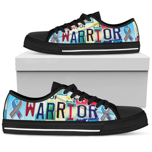 Diabetes Warrior Low Top Shoe - Love Family & Home