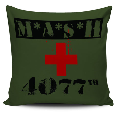"Image of MASH 4077th 18"" Pillow Cover - Love Family & Home"