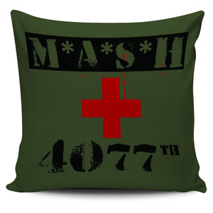 "MASH 4077th 18"" Pillow Cover - Love Family & Home"
