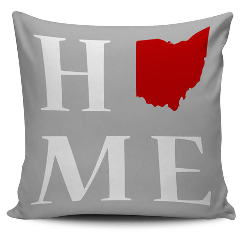 "Ohio State Home 18"" Pillow Covers - Love Family & Home"