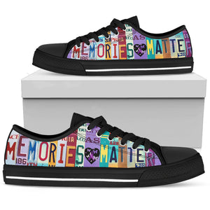 Memories Matter Low Top Shoes - Love Family & Home