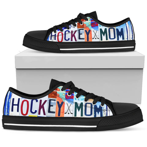 Hockey Mom Low Top - Love Family & Home