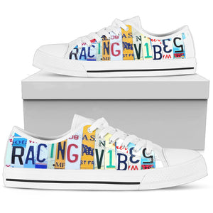 Racing Vibes Low Top Shoes - Love Family & Home