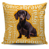 "Dachshund 18"" Pillow Covers"