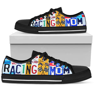 Racing Mom - Low Top - Love Family & Home