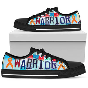 Leukemia Warrior Low Top Shoes - Love Family & Home