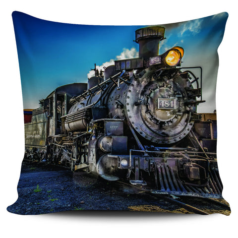 "Classic Trains 18"" Pillow Covers - Love Family & Home"