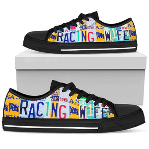 Racing Wife Low Top Shoes, Racing Shoes - Love Family & Home