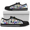 Autism Mom Low Top Shoes - Love Family & Home