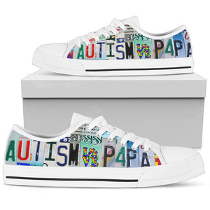 Autism Papa Low Top Shoe - Love Family & Home