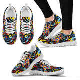 Autism Awareness Ribbon Running Shoes EXP